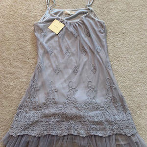 NWT beautlful grey dress size M